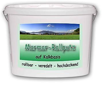 Rollputz Auf Kalkbasis Von Alpenkalk 20kg Ca 60 M Rollputz Fein