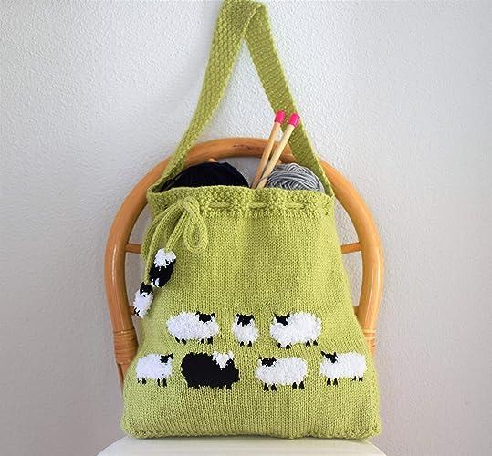 Amazon Bag Knitting Pattern Knitting Bag Pattern Handmade