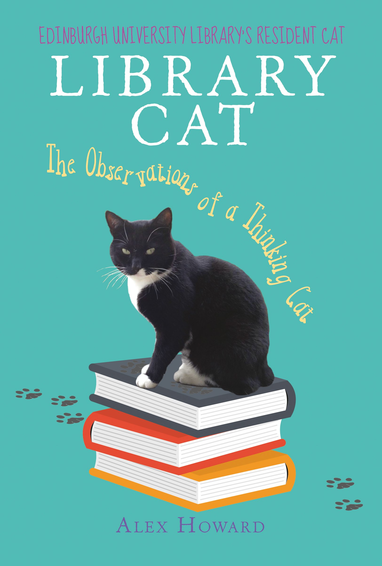 library cat the observations of a thinking cat amazon co uk library cat the observations of a thinking cat amazon co uk alex howard 0884619487458 books