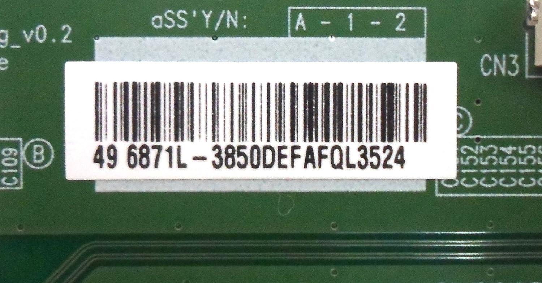 LG 6871L-3850C//6871L-3850D T-Con Board for 49LF6300-UA BUSYLJR