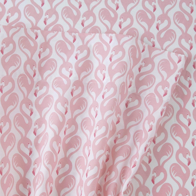 Southern Tide Flamingos Twin XL Sheet Set