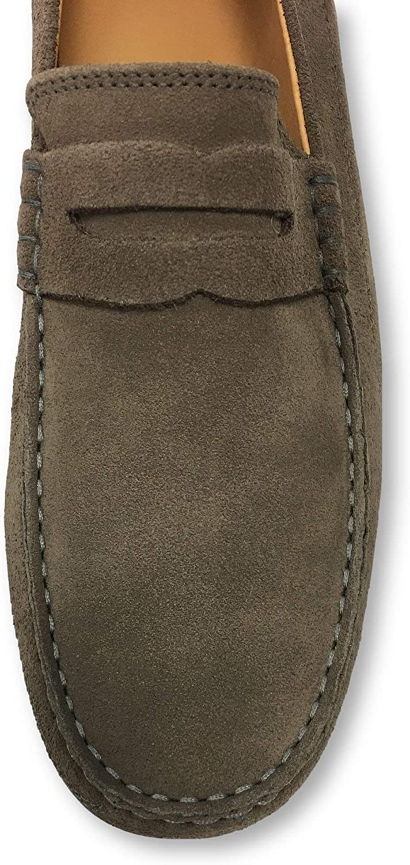 Fins Marshall loafers in almond//mushroom 8