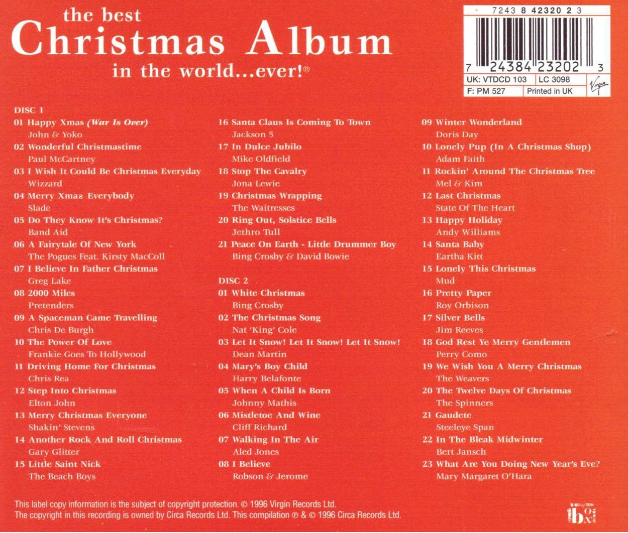 Various Artists - Best Christmas Album in the World Ever - Amazon ...