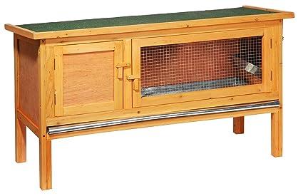 dobar 23306 FSC Tradicional pequeño Animal gallinero con Zinc bañera, silencioso habitación y Techo con
