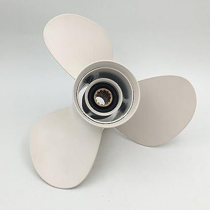 """Aluminium Propeller 663-45952 Yamaha  Outboard F30 40HP 50HP 60HP 3 11 3//8 x 12/"""""""