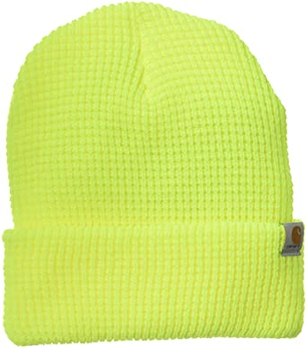 f3128846 Carhartt Men's Woodside Hat, Brite Lime, One Size at Amazon Men's Clothing  store: