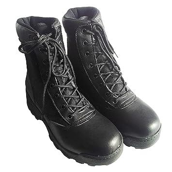 Area Shopping Anfibi Militari Stivali in Pelle per Esercito Militari  Polizia Softair  Amazon.it  Scarpe e borse 7bf64d219d3