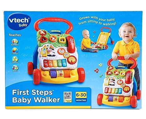 Vtech Baby First Steps bebé Walker Diseño <NEW agosto 2012>. Toy ...