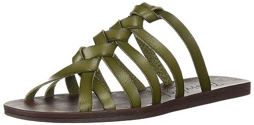 20f7876f4702 Blowfish Womens Dalts Flat Sandal  Amazon.ca  Shoes   Handbags