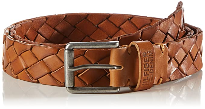 2acb86a8 Image Unavailable. Image not available for. Colour: Hilfiger Denim Men's  Braided Belt ...