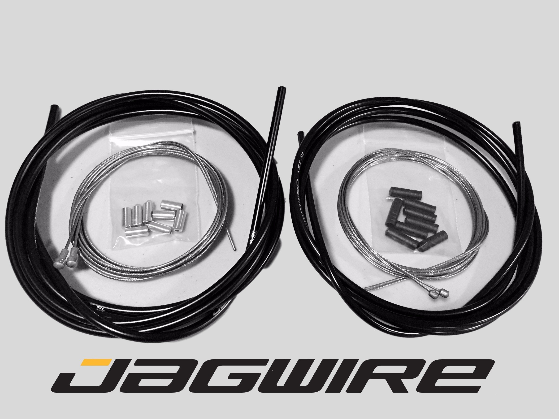 JAGWIRE ROAD SHOP KIT - Complete Brake & Shifter Cable and Housing Kit- Black - Campagnolo