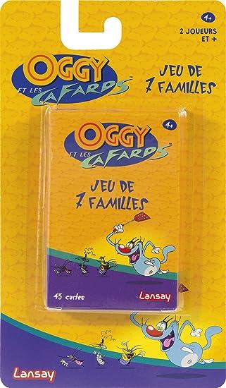 Lansay – Juegos de 7 familias Oggy y Las cucarachas, 11205: Amazon ...