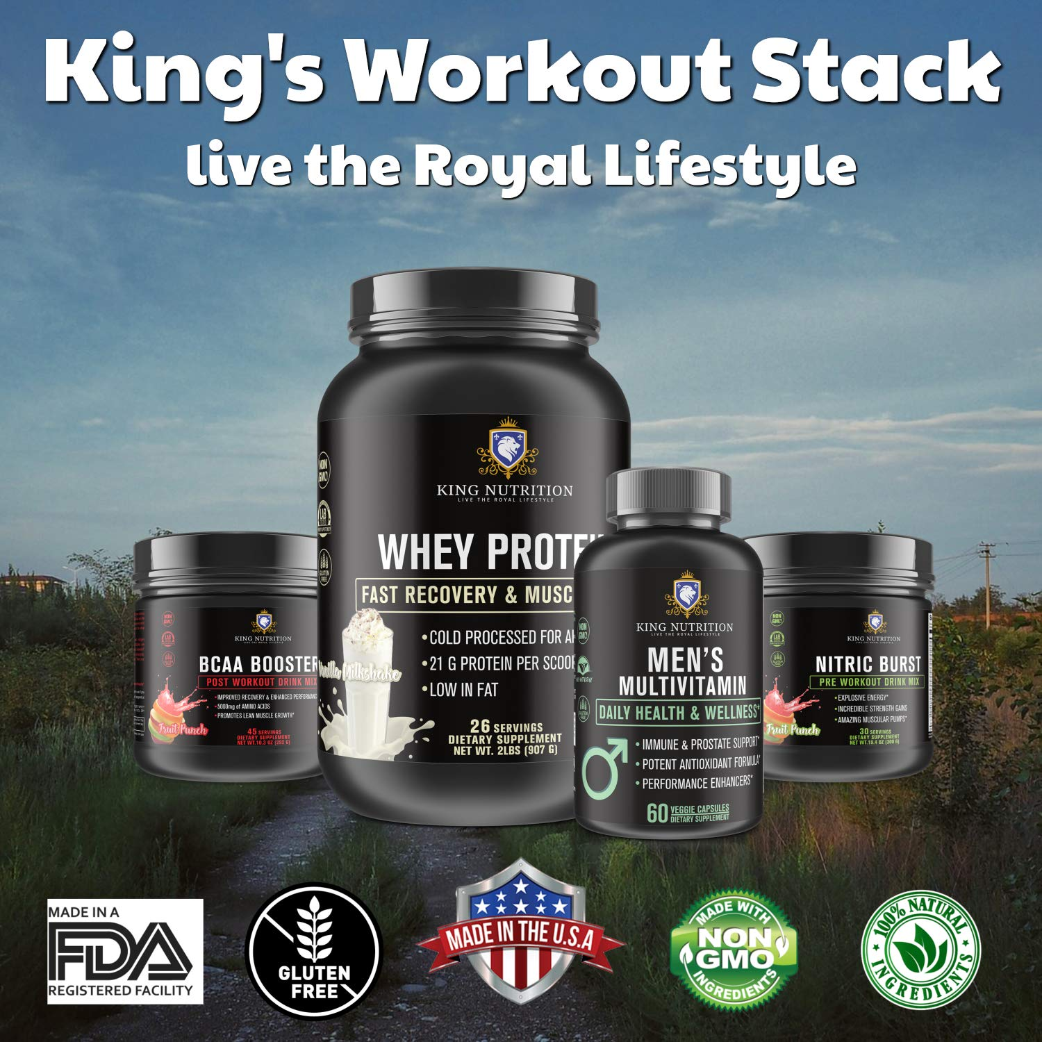 King Nutrition Workout Stack by King Nutrition (Image #1)