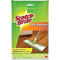 Scotch-Brite Trapeador de microfibra para piso, Repuesto, 1, Verde