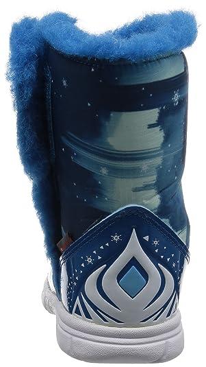 adidas Disney Frozen Mid I, Zapatos (1-10 Meses) Unisex Bebé, Azul (Azuuni/Ftwbla/Azuhie), 21 EU