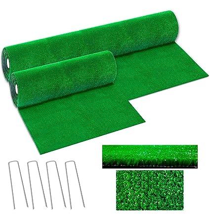 Hierba sintética drenante, 7 mm, 50 tamaños disponibles en altura de 1 metro o 2 metros. Alta calidad, 100% hecho en Italia