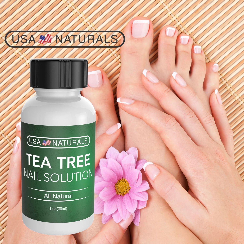 Amazon.com: Tea Tree Oil Toenail Fungus Treatment - Anti Fungal Nail ...