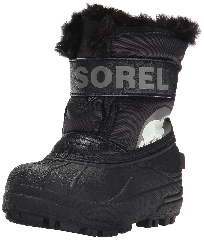 SOREL Snow Commander Snow Boot (Little Kid/Big Kid) SOREL Kids Footwear Snow Commander - K