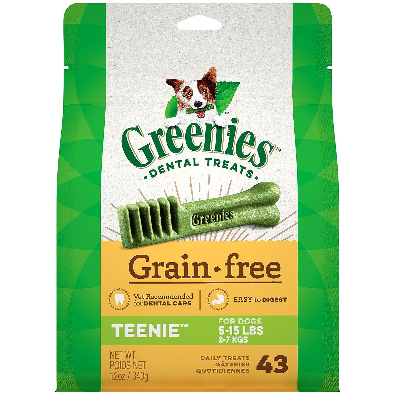 Greenies 12 oz. Grain Free Treat, Teenie