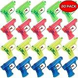 THE TWIDDLERS 20 Pistola de Agua - 4 Colores Variados - Estupendas como Detalles de Fiesta o Rellenos de Piñatas - Regalos para Bolsas de Fiesta
