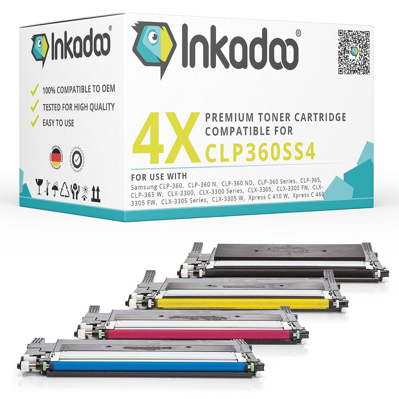 Inka Doo® - Tóner compatible con Samsung CLP 360, sustituye a ...