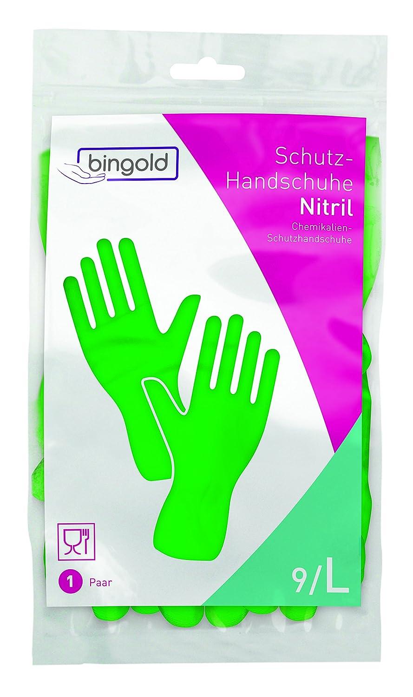 vert bingold 504510/nitrile Gants de plus de Voie 1 S