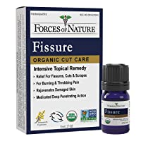 Forces Of Nature – Natural, Organic Fissure Care (5ml) Non GMO, No Harmful Chemicals...