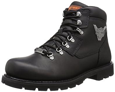 Harley-Davidson Men's Glenmont Motorcycle Lace To Toe Boot, Black, ...
