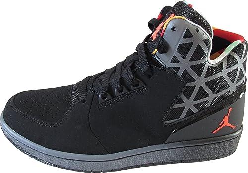 Nike Air Jordan 1, Chaussons Montants Homme Black