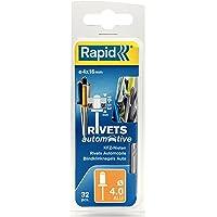 Rapid 5000403 4x16mm 4 kleuren blinde klinknagels voor auto 32 stuks incl. boor, ø4 mm