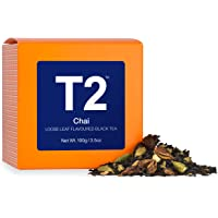 T2 Tea Chai Loose Leaf Black Tea in Box, 100g (3.5 Ounce)
