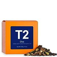 T2 Tea Chai Loose Leaf Black Tea in Box, 100g (3.5 Ounce)