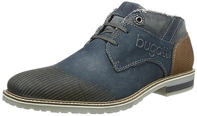 Bugatti F9235PR56, Botines para Hombre, Azul (Navy 423), 40 EU: Amazon.es: Zapatos y complementos