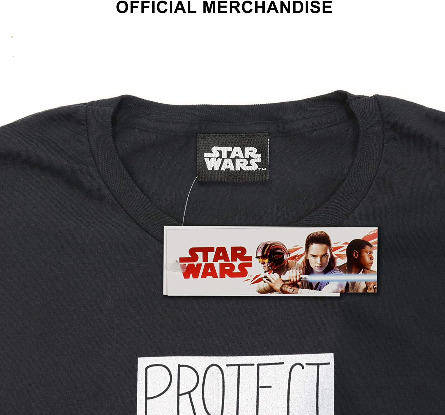 Star Wars: The Mandalorian The Child Protect Official Merchandise Attack Snack Boys T-Shirt