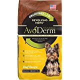 AvoDerm Natural Small Breed Dry Dog Food, Healthy Skin and Coat Kibble, Multiple Flavors