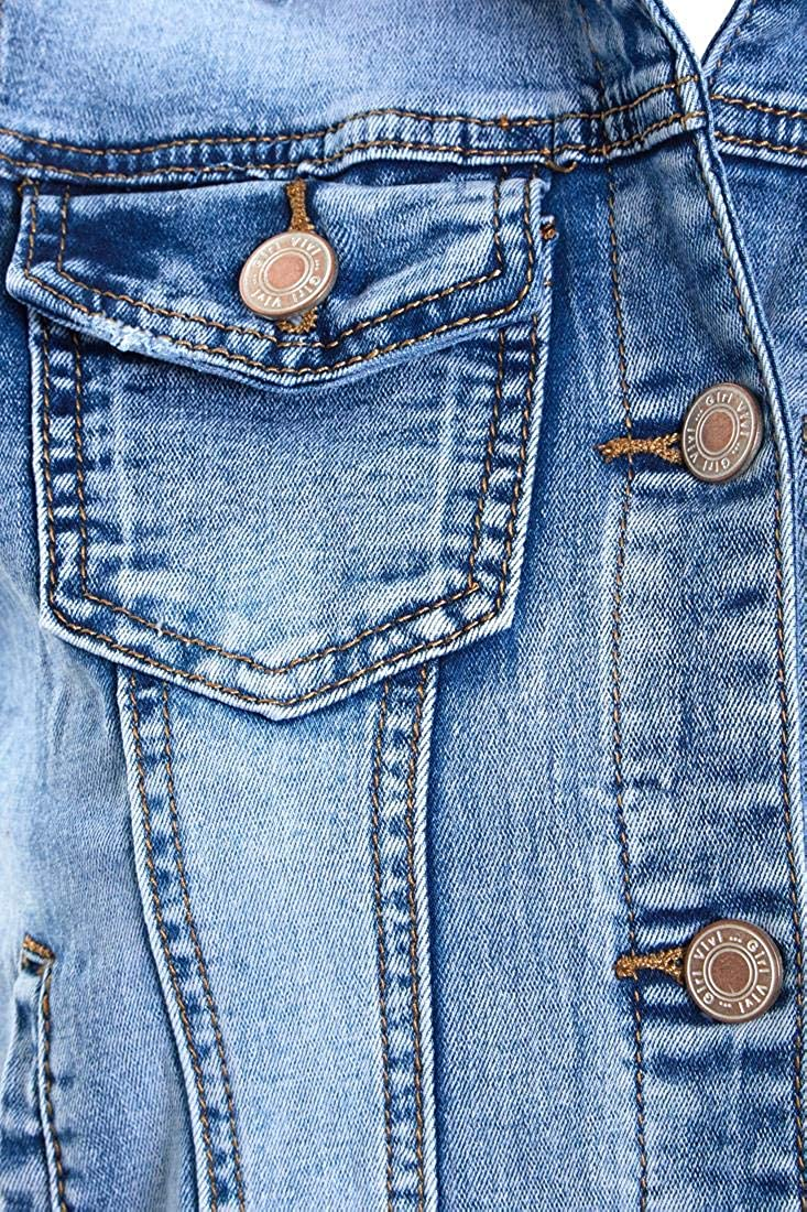 SS7 Womens Denim Waistcoat Jacket