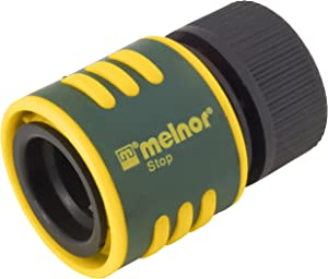 Melnor Quick Connect Product End Connector with Water Stop