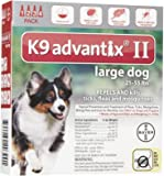 K9 Advantix II Large Dog 4-Pack