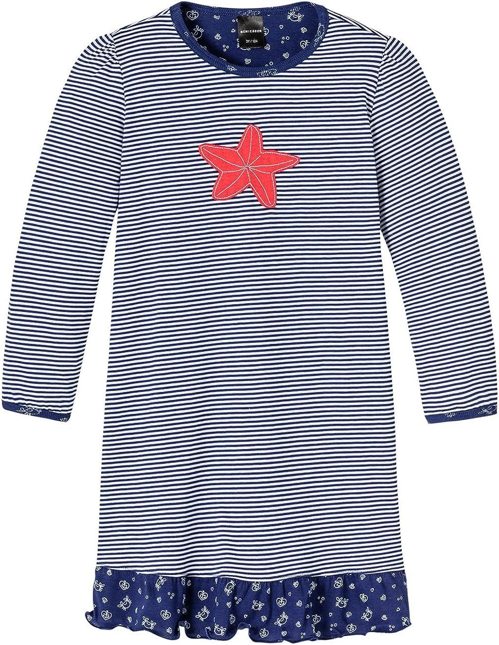 Nachthemd 1//1 Camicia da Notte da Bambine e Ragazze Schiesser