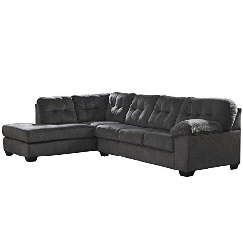 Flash Furniture Granite Microfiber L-Sectional,