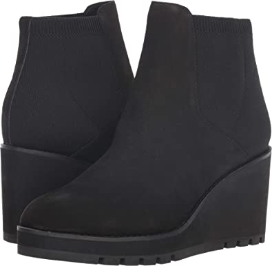 612c8f8b39a Eileen Fisher Women s Adele Black Nubuck 6 B US B ...