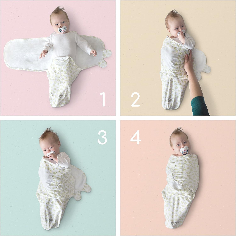 Manta para bebé, recién Nacido niño o niña, Ajustable, Unisex, algodón orgánico, 3 Bolsas en Paquete para bebé, Mantas Suaves con Gorro de bebé: Amazon.es: Hogar