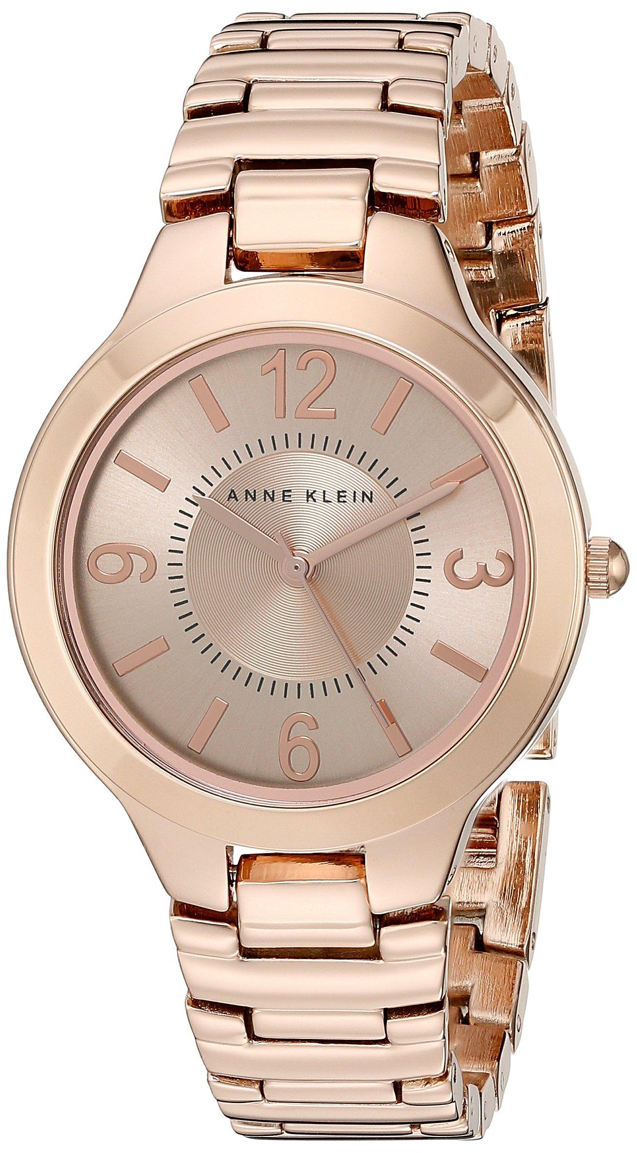 Anne Klein Women's AK/1450RGRG Rose Gold Tone Bracelet Watch by Anne Klein (Image #1)