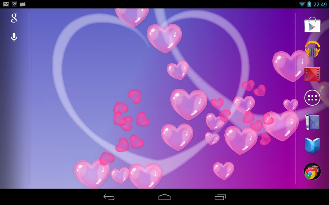 Amazon.com: Bubble Hearts Live Wallpaper (Free): Appstore