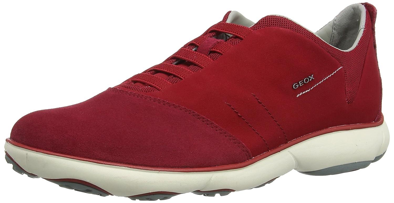 Geox Men's U Nebula 10 Walking Shoe 44 M EU Dark Red