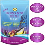 Detox Tea. Tastes Delicious. Reduces Bloating, Supports Digestion. Appetite suppressant. Body Cleanse, Detox, effective weight loss