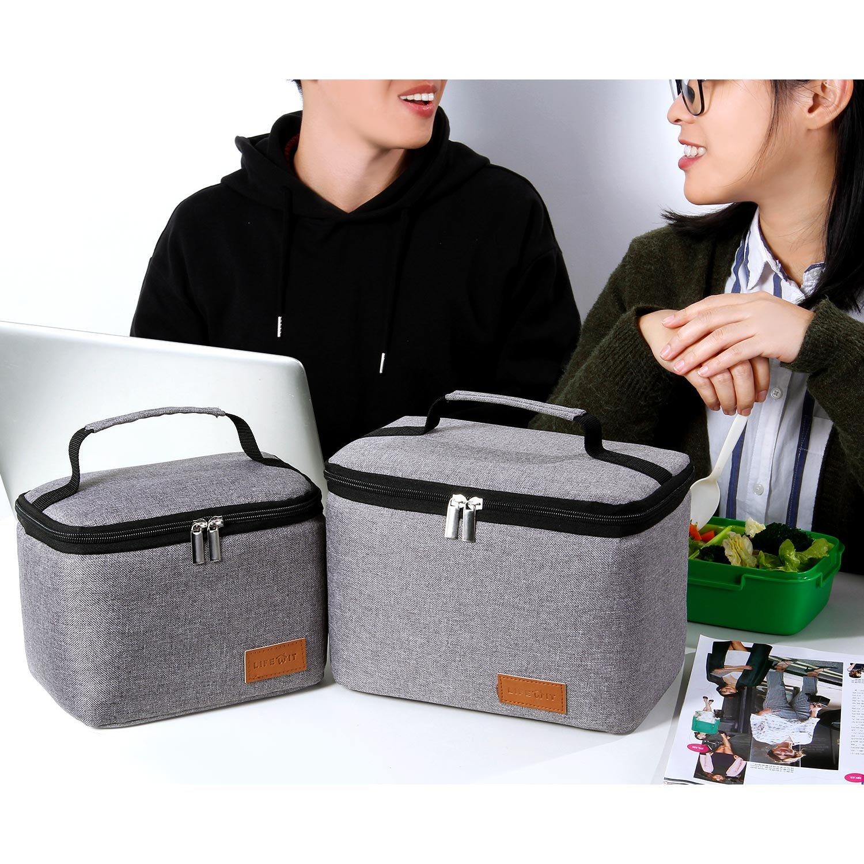 Large 24L Lifewit Lunch Box per Il Pranzo per Adulti//Uomini//Donne//Bambini