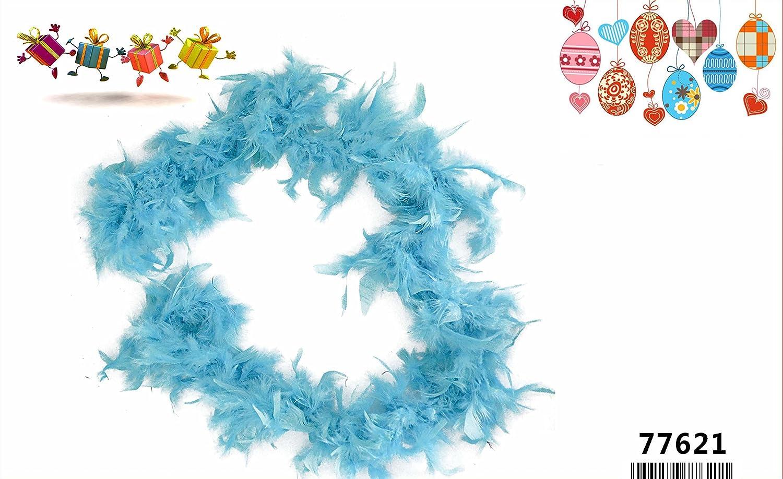 LinQ cigalinq® de Boa Boa Muelle–Fiesta Carnaval Disfraz Color Elección–1.8m 45g para Fiesta de Carnaval