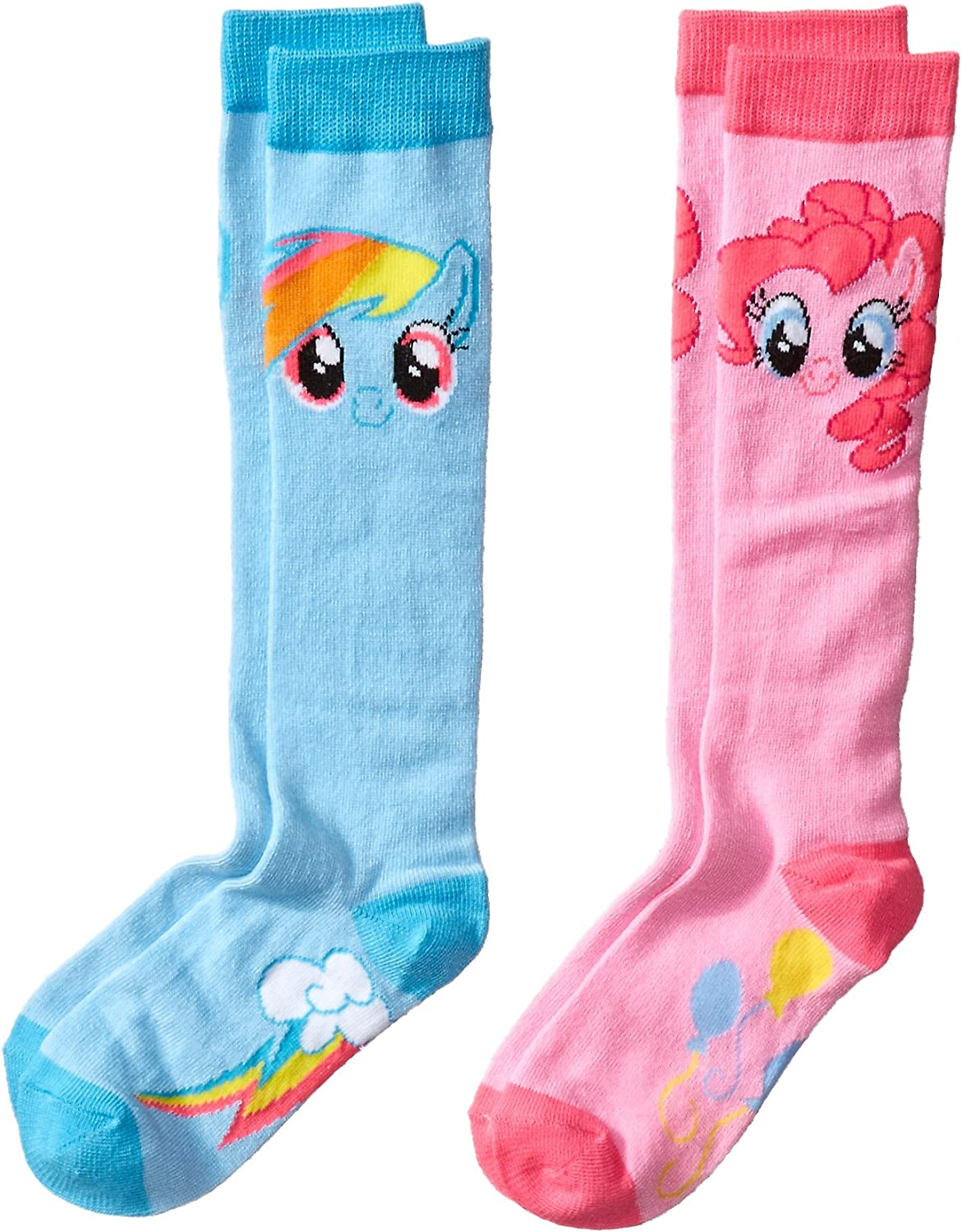 My Little Pony Rainbow Dash Knee High Socks with Wings One Size MLP Cosplay