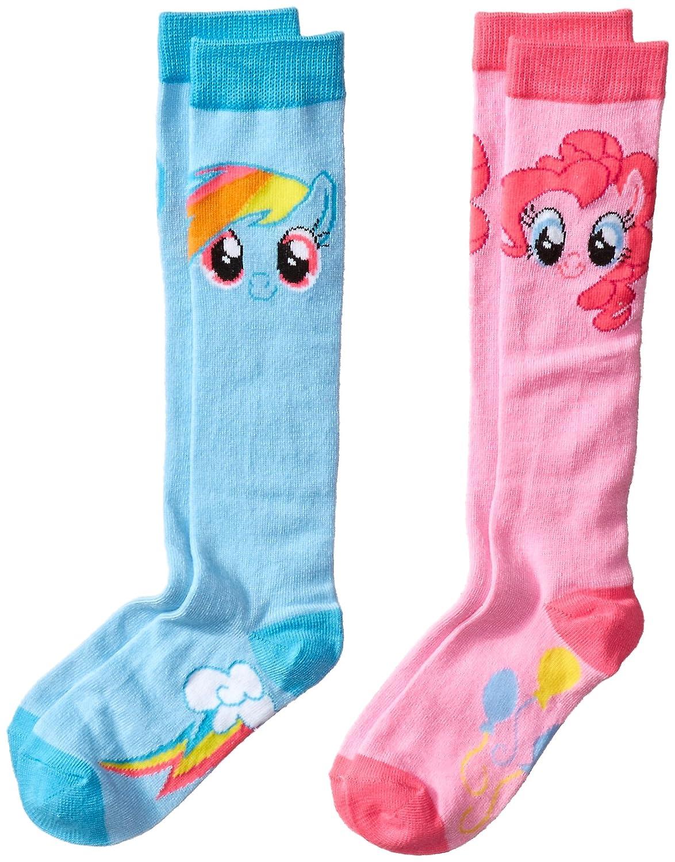 Hasbro Girls My Little Pony 2 Pack Knee High Sock